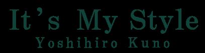久野義博(くのよしひろ)公式サイトイッツマイスタイル